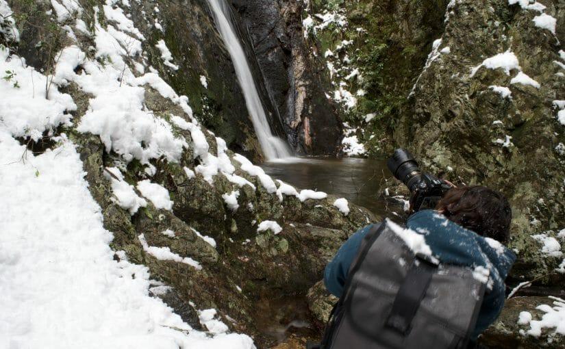 暮らし体験記「滝を撮ろう」