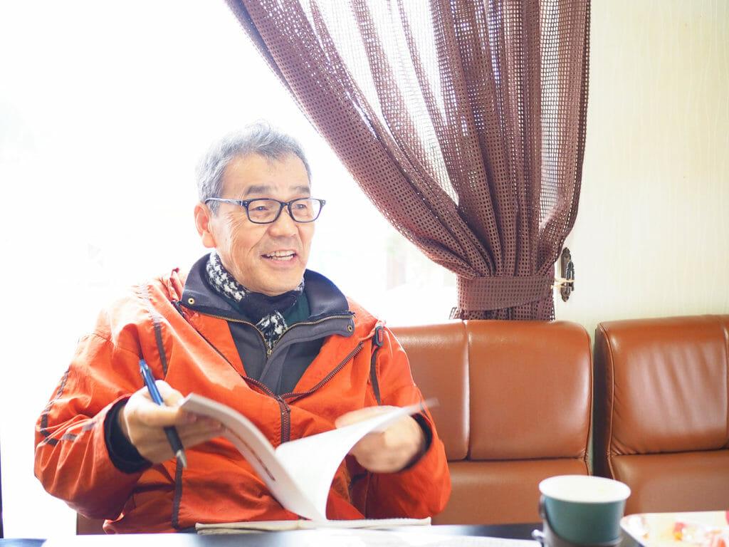 大山地区 一般社団法人 天内 代表理事 伊勢 隆雄さん