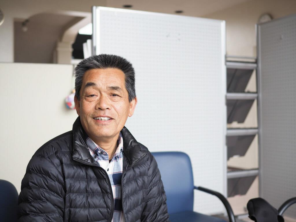 畑地区 みたけ里づくり協議会 事務局長 小島博久さん