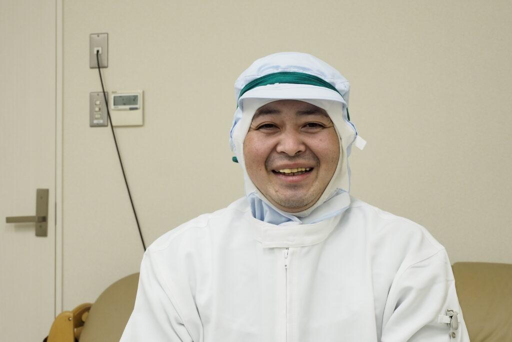 株式会社デザートランド 関西工場 大前 智之さん